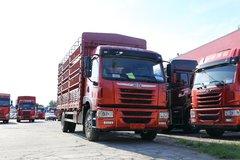 青岛解放 龙VH中卡 180马力 4X2 6.65米仓栅式载货车(CA5189CCYPK2L2E5A80) 卡车图片