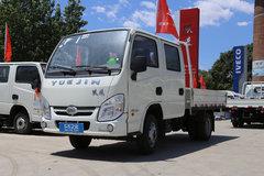 跃进 小福星S50 1.9L 95马力 柴油 2.37米双排栏板微卡(SH1032PBBNS1) 卡车图片