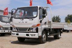 江淮 骏铃V3 120马力 3.85米排半栏板轻卡(HFC1041P93K1C2V) 卡车图片
