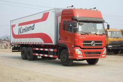 西风商用车 天龙重卡 230马力 6X4 8.6米厢式载货车(翼开启)(DFL5250XXYKAX9) 卡车图片