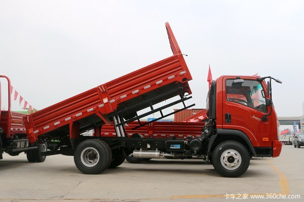 大运轻卡 奥普力 自卸车在漳州市奔翔汽车销售有限公司(大运轻卡)