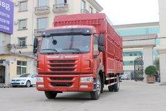 青岛解放 龙VH中卡 180马力 4X2 6.75米仓栅式载货车(大柴)(CA5189CCYPK2L2E5A80) 卡车图片