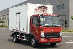 中国重汽HOWO 统帅 物流版 160马力 4X2 4.1米单排冷藏车(ZZ5047XLCF341CE145)