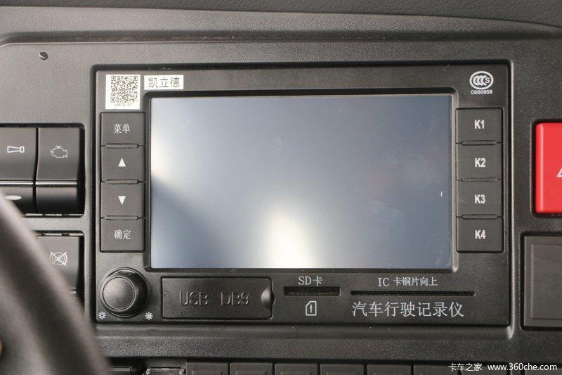 howo t5g重卡 340马力 6x4 载货车底盘(zz1257n464ge1) 驾驶室