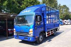 江淮 帅铃K340 120马力 4.23米单排仓栅式轻卡(HFC5041CCYP93K4C3V) 卡车图片