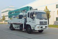 森源重工 180马力 4X2 27米混凝土泵车(天锦底盘)(SMQ5160THB)