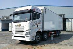 青岛解放 JH6重卡 420马力 8X4 9.4米冷藏车(CA5310XLCP25K2L7T4E5A80)