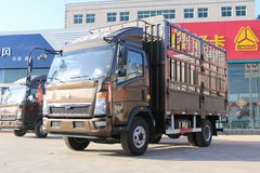 中国重汽HOWO 悍将 129马力 4.15米单排仓栅式轻卡(ZZ5047CCYF3315E145) 卡车图片