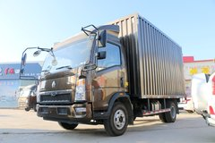 中国重汽HOWO 悍将156马力 4.15米单排厢式轻卡(ZZ5047XXYG3315E145) 卡车图片