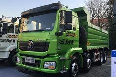 陕汽重卡 德龙新M3000 336马力 8X4 7.2米LNG自卸车(SX3318HR346TL) 卡车图片