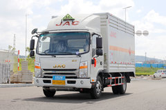 江淮帅铃中卡 130马力 4X2 4.08米单排气瓶运输车(HFC5043TQPXVZ)
