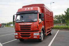青岛解放 龙VH中卡 先锋版 220马力 4X2 6.75米仓栅式载货车(CA5189CCYPK2L2E5A80) 卡车图片