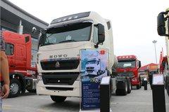 中国重汽 HOWO T7H重卡 430马力 6X4 LNG牵引车(B版)(ZZ4257V384HE1LB) 卡车图片