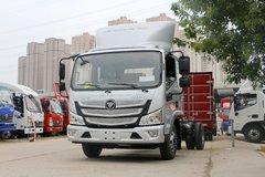 福田 欧马可S3系 143马力 3.83米排半仓栅式轻卡(采埃孚)(BJ5048CCY-FE)