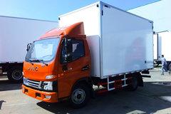 江淮 骏铃V5 130马力 4X2 4米冷藏车(冰凌方)