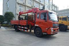 东风商用车 天锦 180马力 4X2 5.6米随车吊(DFC5180JSQBX1DV)