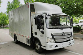 福田 欧马可智蓝 4.5T 4.14米单排纯电动厢式微卡