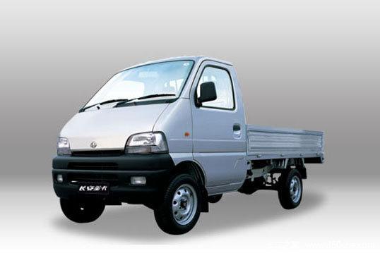 长安商用车星卡1.0l53栏板车队2.3米单排汽油微卡北京bj40自驾游马力图片