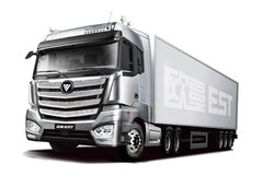 福田 欧曼EST 6系重卡 规范型 510马力 6X4主动挡牵引车(AMT手自一体)(BJ4259SNFKB-AA) 卡车图片