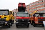 江铃重汽 远威重卡 260马力 8X4 7.6米自卸车(SXQ3310G5D2)