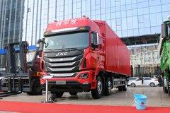 江淮 格尔发K5W重卡 310马力 6X2 9.5米可交流箱体式载货车(HFC1251P1K4D54MS) 卡车图片