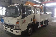 中国重汽HOWO 悍将 170马力 4X2 3.4米随车吊(ZZ5047JSQF341CE145)