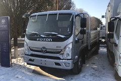 福田 奥铃CTS 156马力 5.25米排半栏板轻卡(BJ1108VEPED-FA) 卡车图片