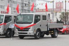 东风 凯普特N300 130马力 3.1米双排栏板轻卡(EQ1040D9BDD) 卡车图片