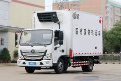 福田 欧马可S3系 143马力 4米单排医疗废物转运车(顺肇牌)(SZP5040XYYBJ9) 卡车图片