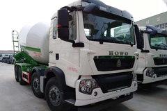 中国重汽 HOWO T5G 350马力 8X4 7.49方混凝土搅拌车(华专一牌)(EHY5310GJBZ)