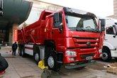 中国重汽 HOWO重卡 440马力 8X4 7.6米自卸车(ZZ3317N3867E1)