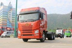 青岛解放 JH6重卡 460马力 6X4 LNG牵引车(www.js77888.com)(CA4250P26K15T1NE6A80)