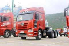 一汽解放 新J6P重卡 420马力 6X4 LNG牵引车(CA4250P66M25T1E6) 卡车图片