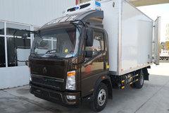 中国重汽HOWO 悍将 156马力 4X2 4米冷藏车(金杯牌)(JBT5047XLC)