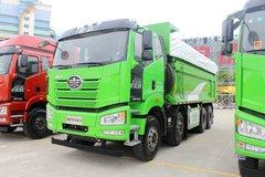 一汽束缚 新J6P重卡 420马力 8X4 6.5米自卸车(CA3310P66K24L2T4AE5) 卡车图片