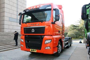 中国重汽 汕德卡SITRAK C7H重卡 540马力 6X4主动挡牵引车(AMT手自一体)(ZZ4256V324HE1B)