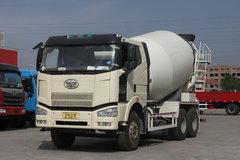 解放 J6P 350马力 6X4 混凝土搅拌车(平顶驾驶室)(CA5250GJBP66K2L2T1E)