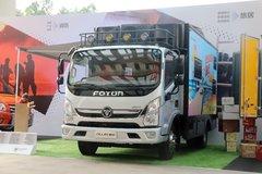 福田 奥铃CTS 150马力 4.085米单排客居车 卡车图片