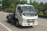 福田时代 小卡之星2 68马力 4X2 车厢可卸式垃圾车(BJ5042ZXX-AA)