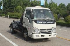 福田期间 小卡之星2 68马力 4X2 车厢可卸式渣滓车(BJ5042ZXX-AA) 卡车图片