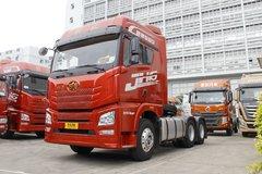 青岛束缚 JH6重卡 550马力 6X4牵引车(CA4250P25K15T1E5A80) 卡车图片