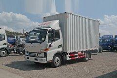 江淮 骏铃V5 110马力 4.15米单排厢式轻卡(HFC5045XXYP92K4C2V) 卡车图片