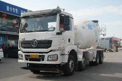 陕汽 德龙新M3000 336马力 8X4 7.49方混凝土搅拌运输车(SX5310GJBMB3062)