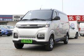 北汽新动力 EV407 2.8T 4.5米纯电动封锁厢式运输车43.5kWh