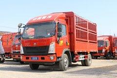 中国重汽HOWO 悍将 2018款 170马力 4.15米单排仓栅式轻卡(ZZ5047CCYF341CE143) 卡车图片