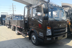 中国重汽HOWO 悍将 116马力 3.85米排半栏板轻卡(云内)(ZZ1047F3315E145) 卡车图片