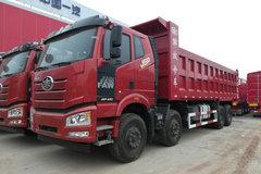 一汽束缚 J6P重卡 420马力 8X4 8.2米自卸车(CA5310ZLJP66K24L6T4AE5) 卡车图片