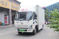 解放 J6F 4.5T 4.21米单排厢式纯电动轻卡(CA5047XXYP40L1BEVA83)