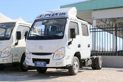 跃进 小福星S50 2019款 1.9L 95马力 柴油 3.02米双排厢式微卡(SH5032XXYPBBNS1) 卡车图片