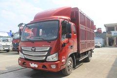 福田 欧马可S3系 143马力 3.83米排半仓栅式轻卡(BJ5048CCY-FE) 卡车图片